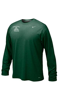 Nike Green L/S Legend Drifit