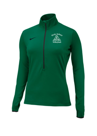 Nike Women's Forest Green Hyperwarm Jacket