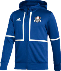 Adidas Under The Lights Full Zip Jacket in Royal