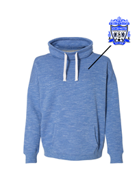Women's Fleece Cowl Neck Sweatshirts (all logoing will be like your jersey)
